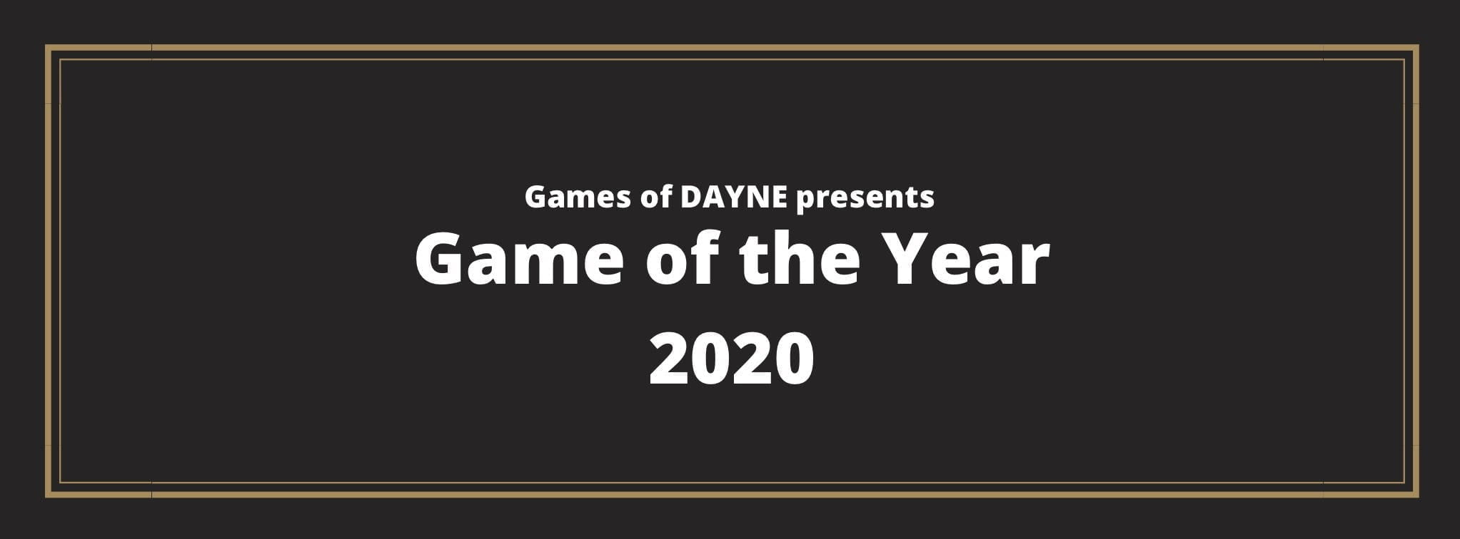 Game of the Year 2020