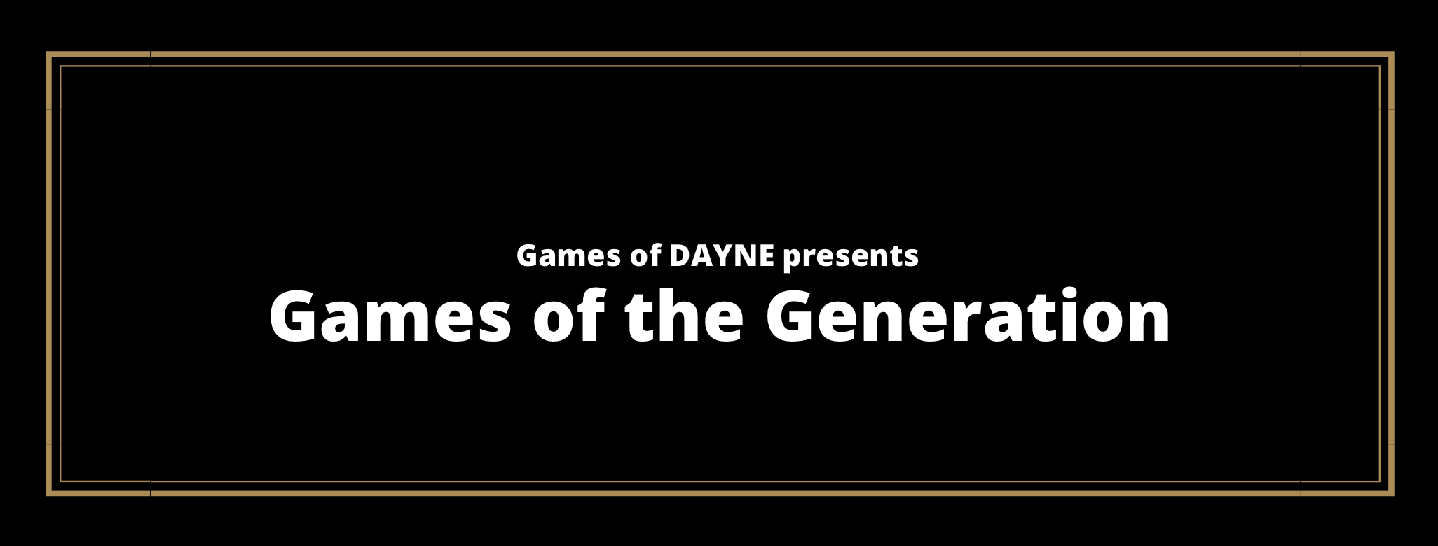 Games of the Generation (Xbox One | PlayStation 4)